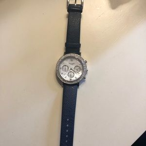 Kate Spade Navy Blue Band Watch